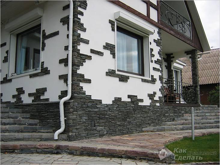 Чем облицевать фасад дома