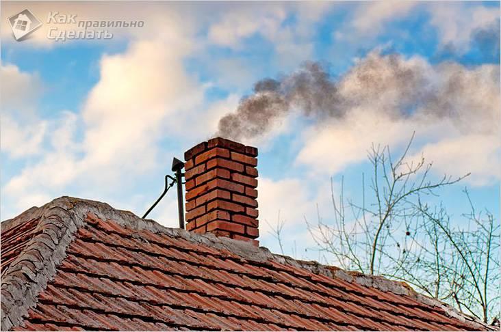 Что делать если нет тяги в дымоходе