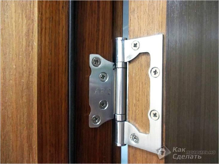 Что делать если перекосило дверь