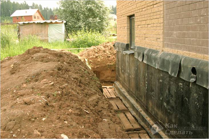 Как сделать фундамент на глине для дома