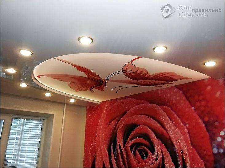 Как сделать натяжной потолок с 3D рисунком