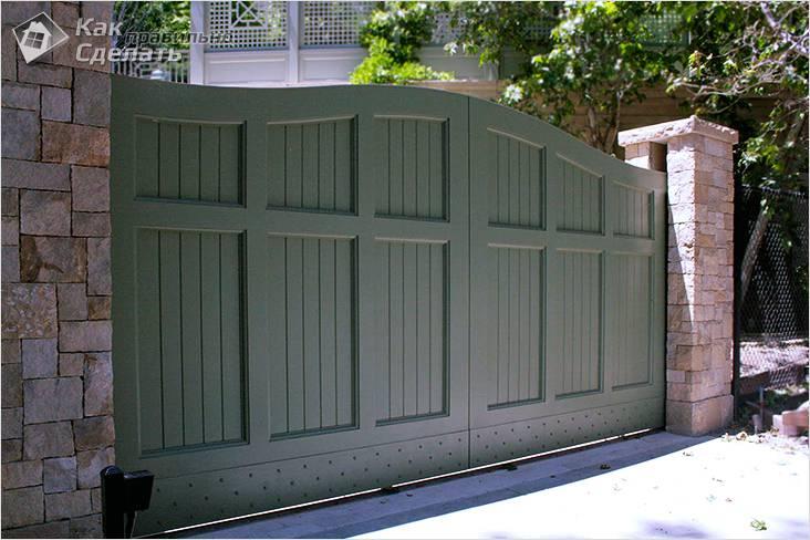 Как сделать раздвижные ворота