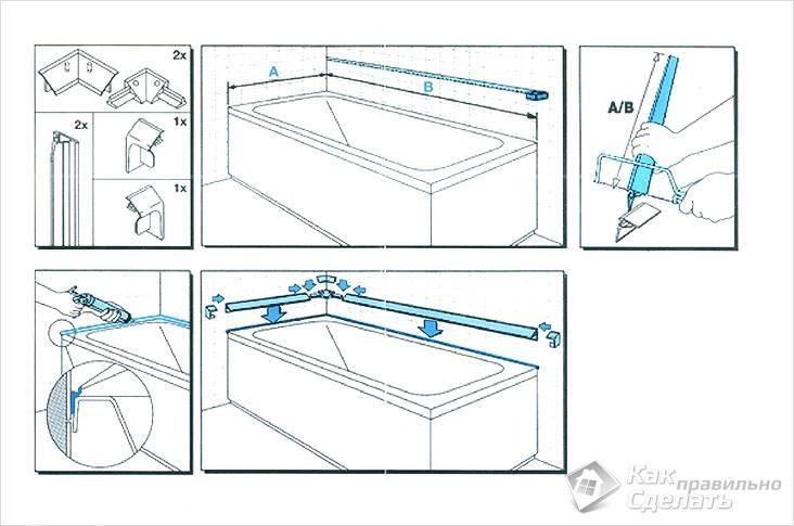 Как установить пластиковый плинтус
