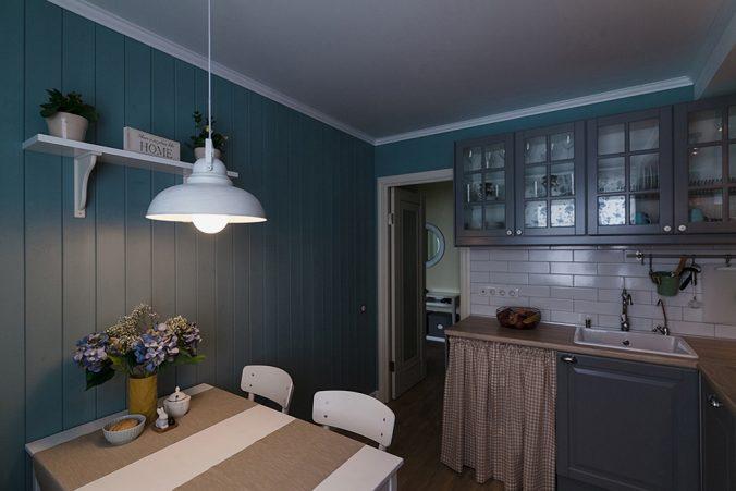 Варіанти обробки стін на кухні