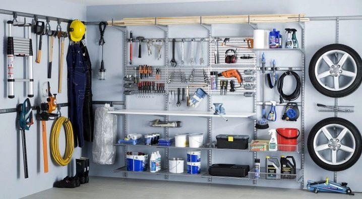 полочные стеллажи для гаража